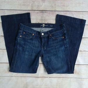 7 For All Mankind Dojo 27 Dark Trouser Jeans J2